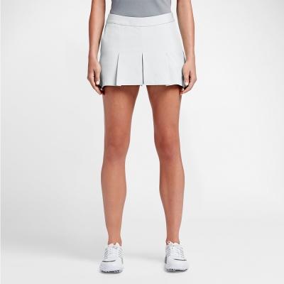 NIKE GOLFMAJORS PLEATED 運動 褲裙-白803090-100