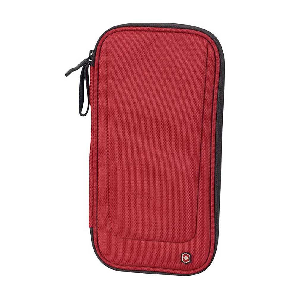 VICTORINOX 維氏尼龍證件包-紅