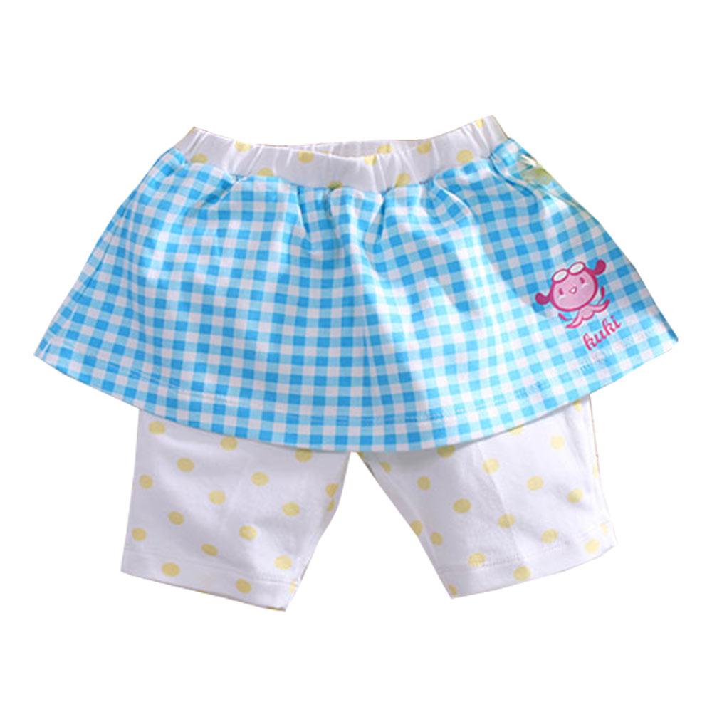 純棉格紋&點點印花褲裙 k50781 魔法Baby