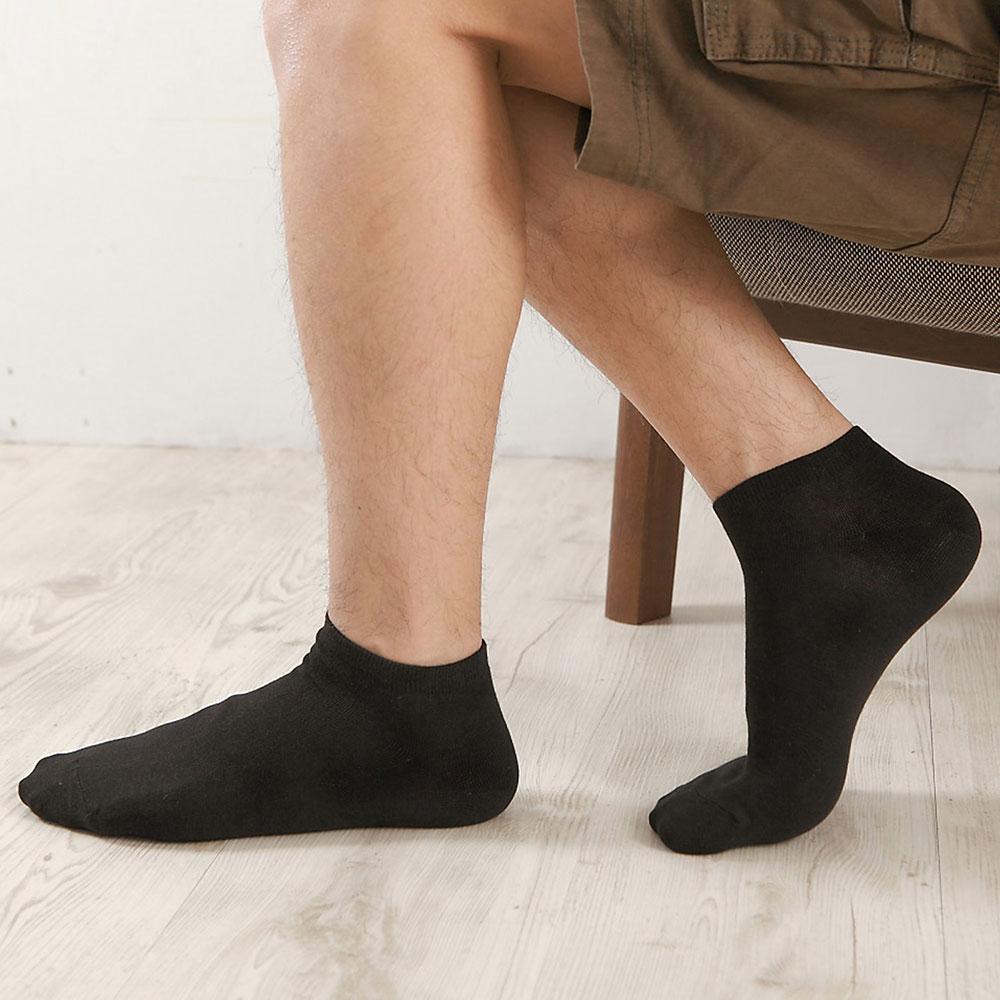 源之氣 竹炭短統襪/男女共用 6雙組 RM-10029