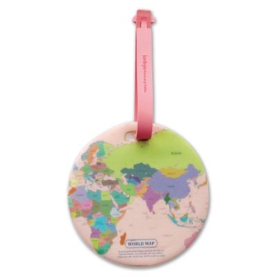FUNZAKKA 世界地圖旅行吊牌-彩色