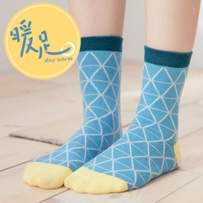蒂巴蕾 暖足 羊毛襪-三角形