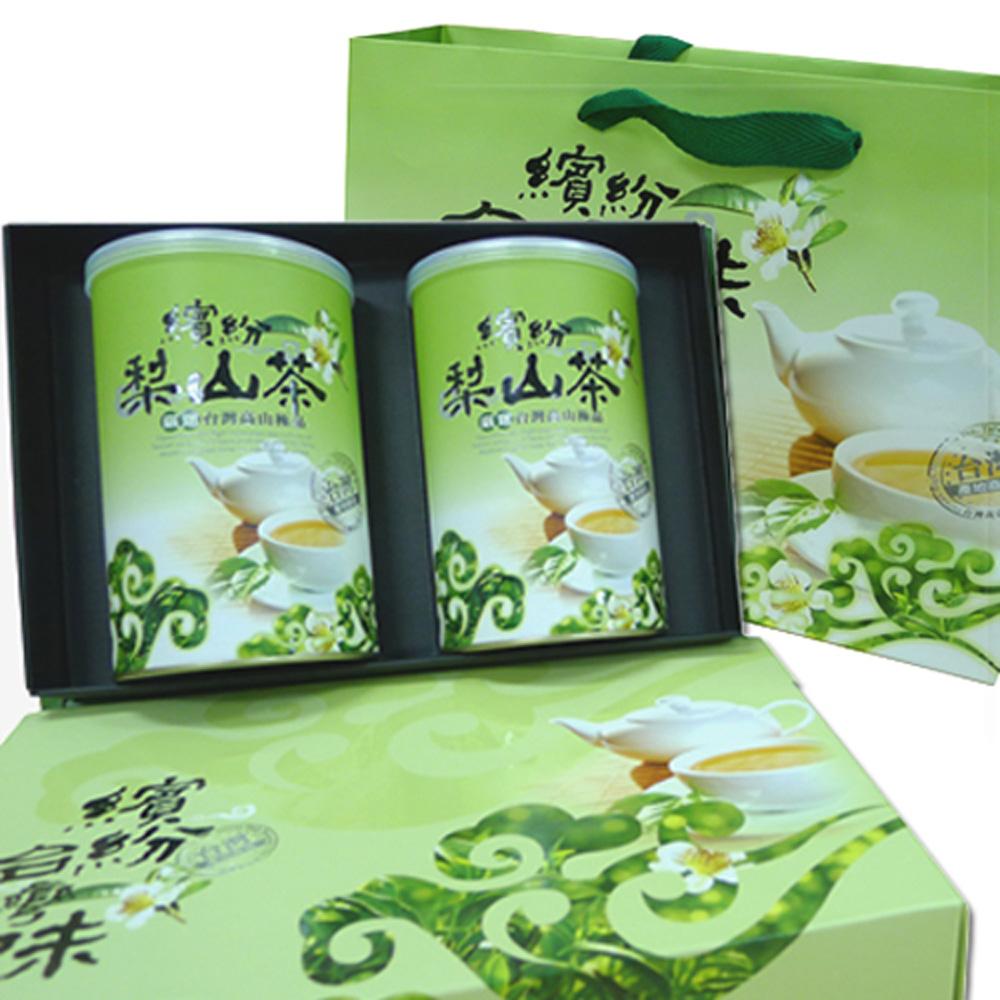 新造茗茶 梨山頂級手採高山茶葉禮盒(150gx2罐)