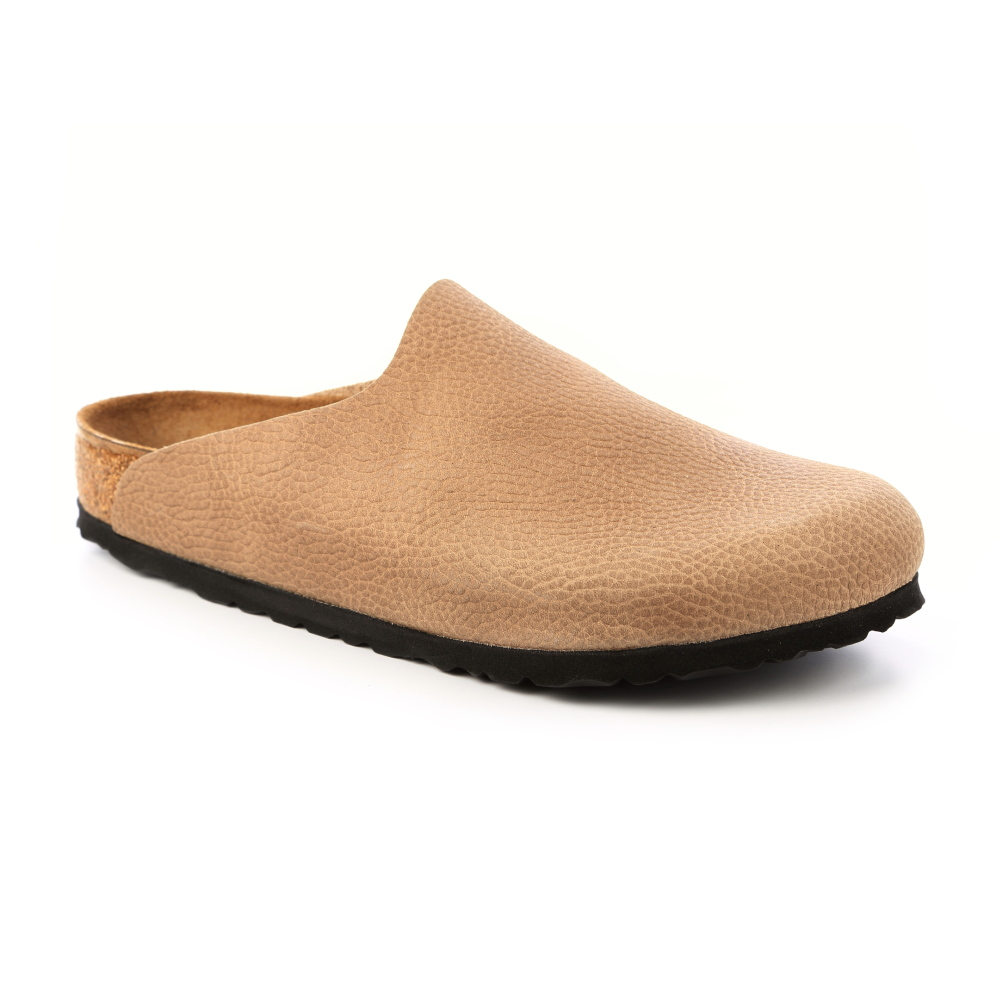 勃肯BIRKENSTOCK 1006719。AMSTERDAM包頭拖鞋(米褐色)