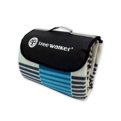 Tree Walker 方款手提式時尚植絨露營墊 124003-1