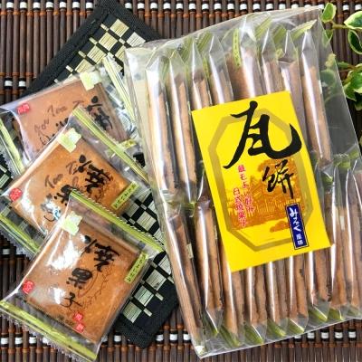 統賀食品 經典手工日式瓦餅-牛奶(450g)