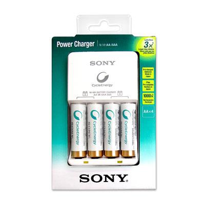 SONY 低自放電經濟型 充電組(含3號電池4顆)