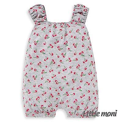 Little moni 印圖連身褲 (2色可選)