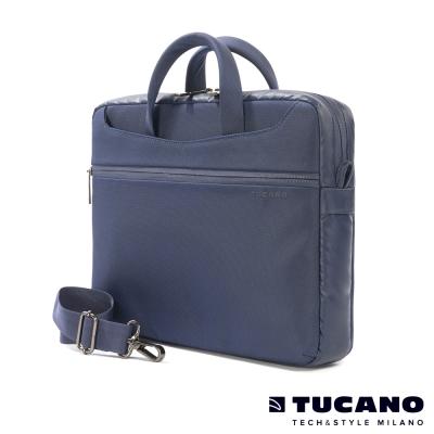 TUCANO WORK_OUT II 時尚亮彩薄型側背包MB 13.3吋-藍
