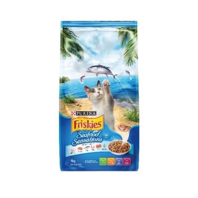 Friskies喜躍《海洋魚總匯口味》貓乾糧  7 kg