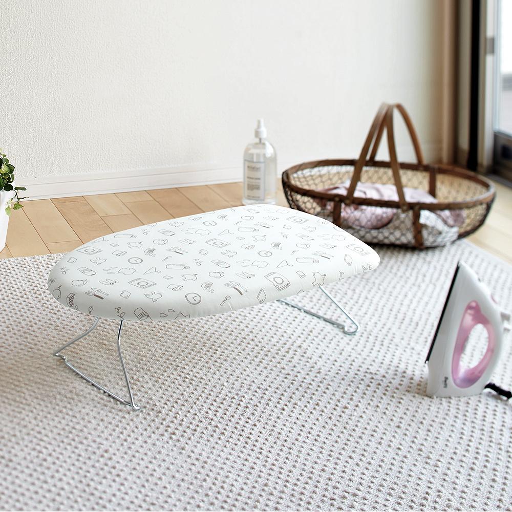 YAMAZAKI圓弧桌上型輕巧燙衣板-手繪時光 @ Y!購物