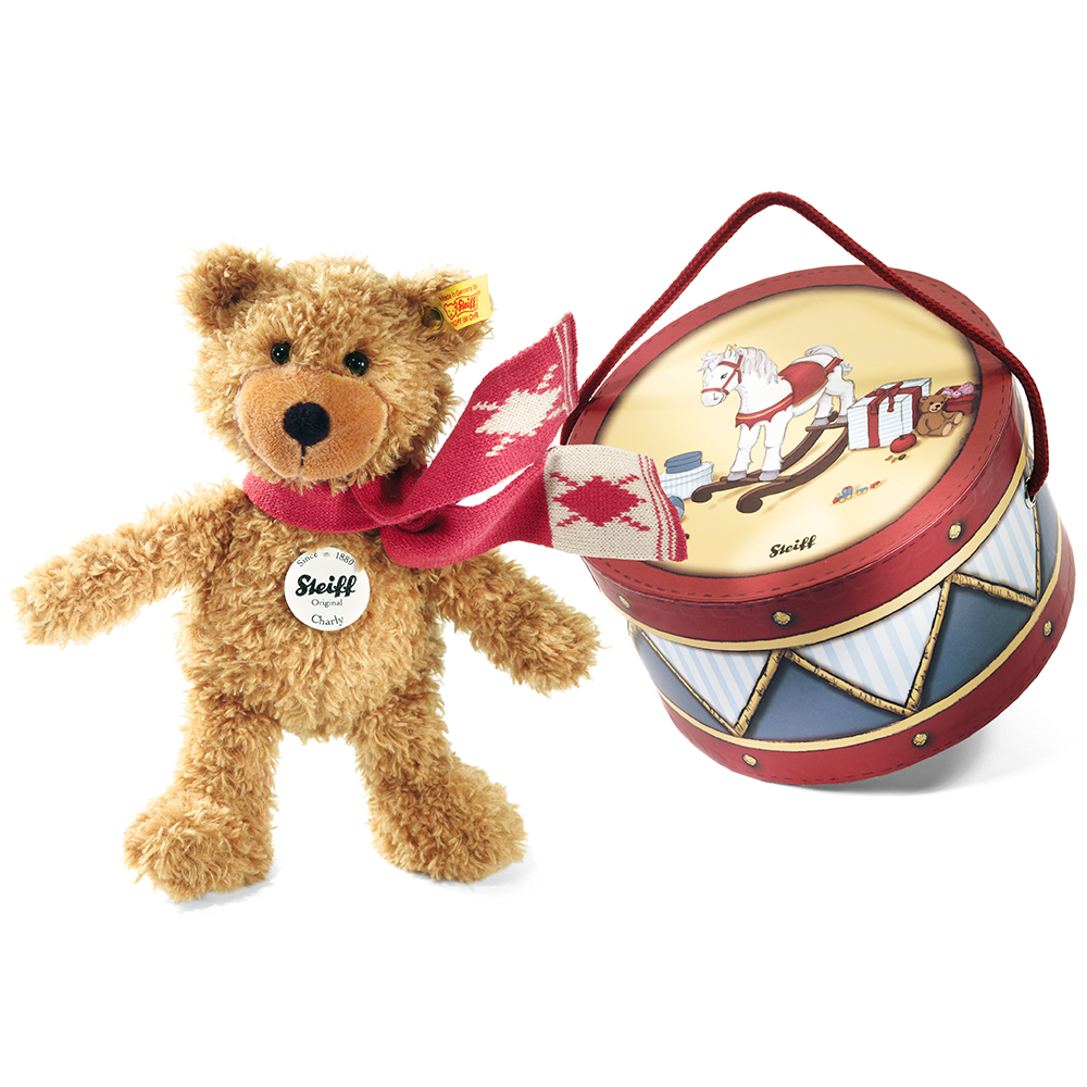 STEIFF德國金耳釦泰迪熊 - Charly Teddy Bear (28cm)