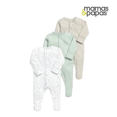 Mamas & Papas WTTW 兔子蓋印章連身衣3件組