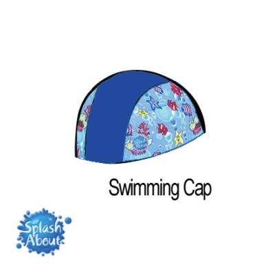 Splash-About-潑寶-抗UV泳帽-寶藍-海底世界