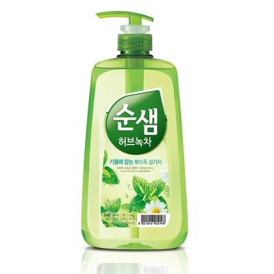 韓國愛敬AK 全植物草本甘菊綠茶洗潔液 1kg