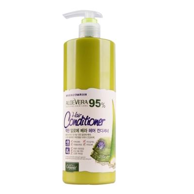 Organia歐格妮亞 蘆薈95%柔順保濕護髮素1500ml