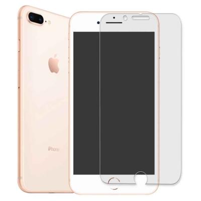 iPhone 8 Plus 5.5吋 鋼化玻璃膜(非滿版)+側邊蝶翼加強機身背膜