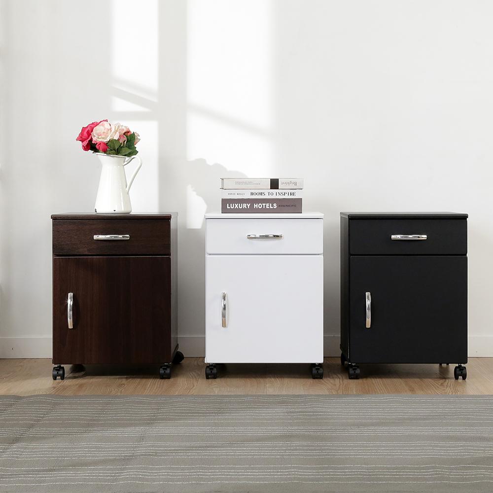 BuyJM防潑水多用途一門一抽附輪活動櫃/檔案櫃-DIY