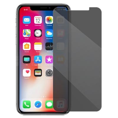 Metal-Slim Apple iPhone X 防窺鋼化玻璃保護貼