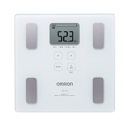 OMRON歐姆龍-體重體脂計HBF-214-4色可