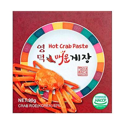 盈德 蟹醬-辣味(90g)