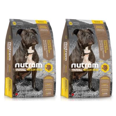 Nutram紐頓 T25無穀潔牙犬 鮭魚配方 犬糧 2.72公斤 x 2包入