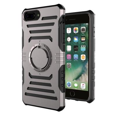 防摔專家 iPhone8 Plus 5.5多功能防震保護殼(送運動臂帶)