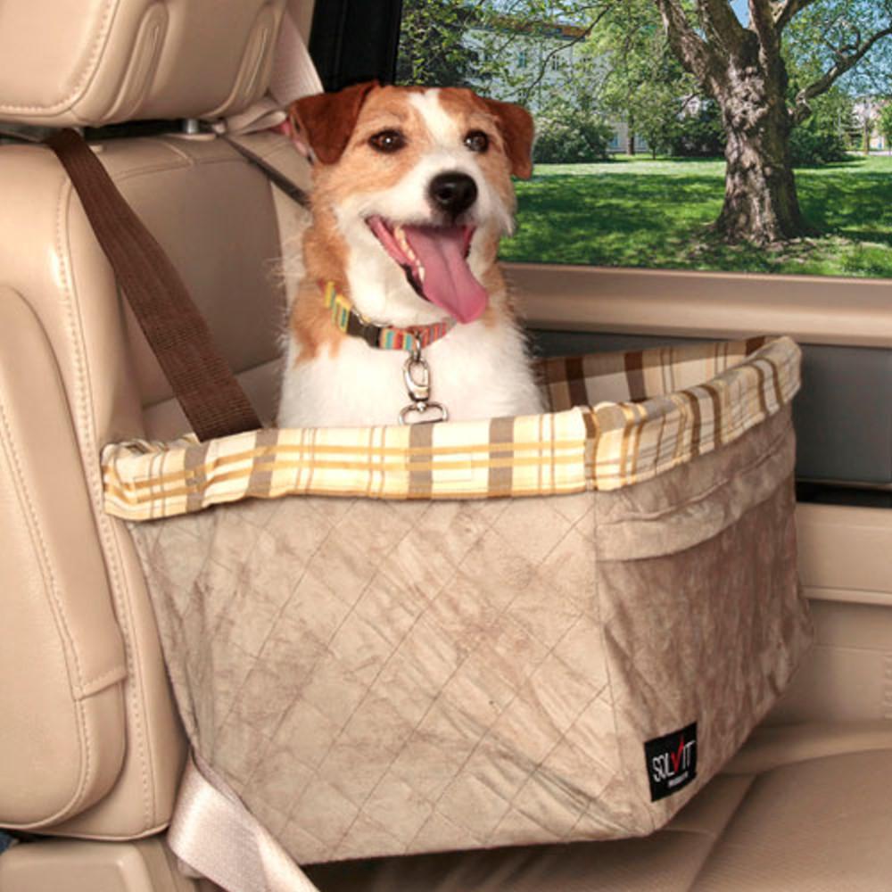 美國SOLVIT寵物介護 豪華版寵物車用安全籃 (XL號)