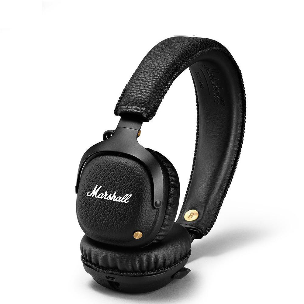 【Marshall買一送一】MID Bluetooth無線藍牙耳罩式麥克風耳機 @ Y!購物