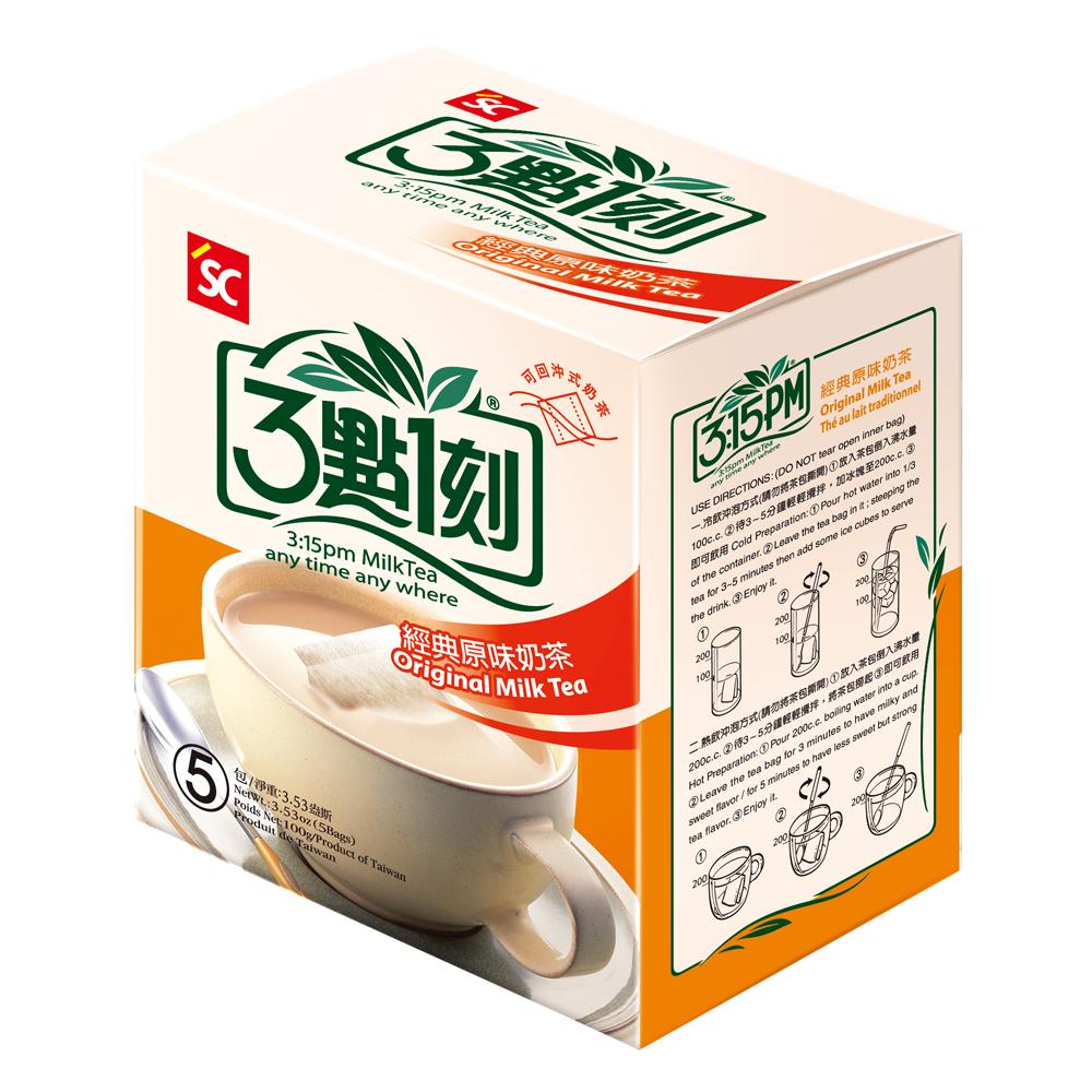 3點1刻 原味奶茶(20gx5包)