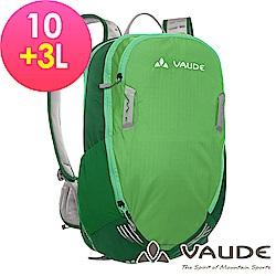 【ATUNAS 歐都納】德國VAUDE-10+3L網架透氣休閒背包VA-11940綠15