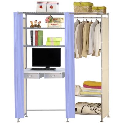 巴塞隆納-W3型60公分+E90公分電腦桌衣櫥架