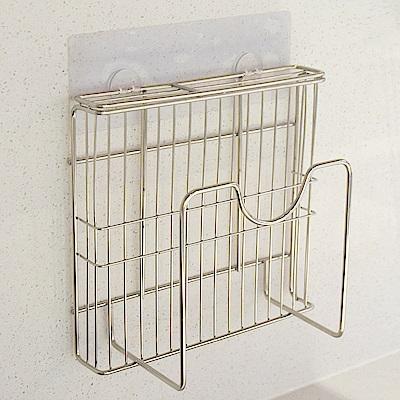 樂貼工坊 不鏽鋼鍋蓋架/刀具架/微透貼面(2入組)-21.5x6x21.5