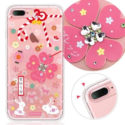 KnowStar APPLE iPhone7 Plus 奧地利水晶防摔許願鑽殼-...