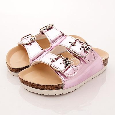 HelloKitty童鞋 軟木涼鞋款 EI17956 粉 (中小童段)T1