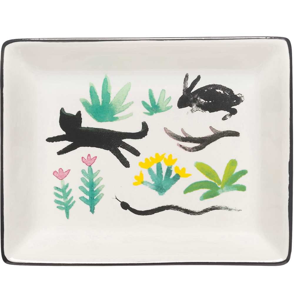 DANICA 長方飾品收納盤(秘密花園)