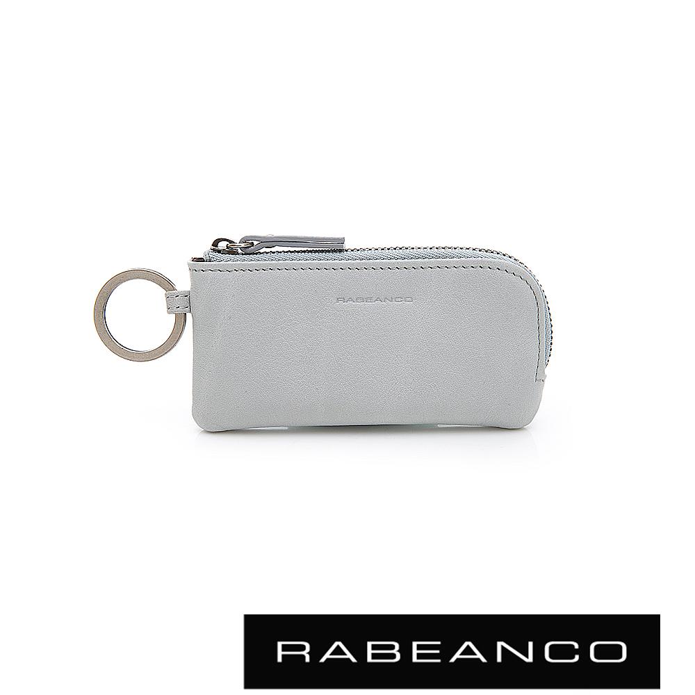 RABEANCO 迷時尚系列鑰匙零錢包 煙雲灰
