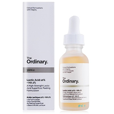 The Ordinary Lactic Acid 10%+HA 2%溫和去角質乳酸30ml