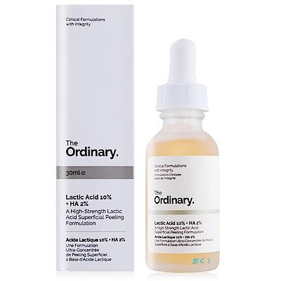 The Ordinary Lactic Acid 10%+HA 2%溫和去角質乳酸30ml