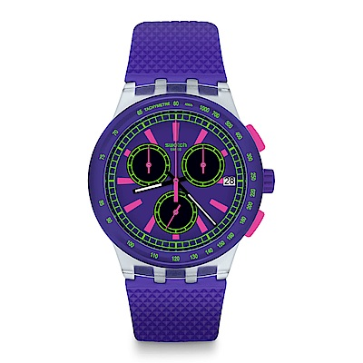 Swatch The Swatch Vibe PURP-LOL 炫紫歡愉手錶