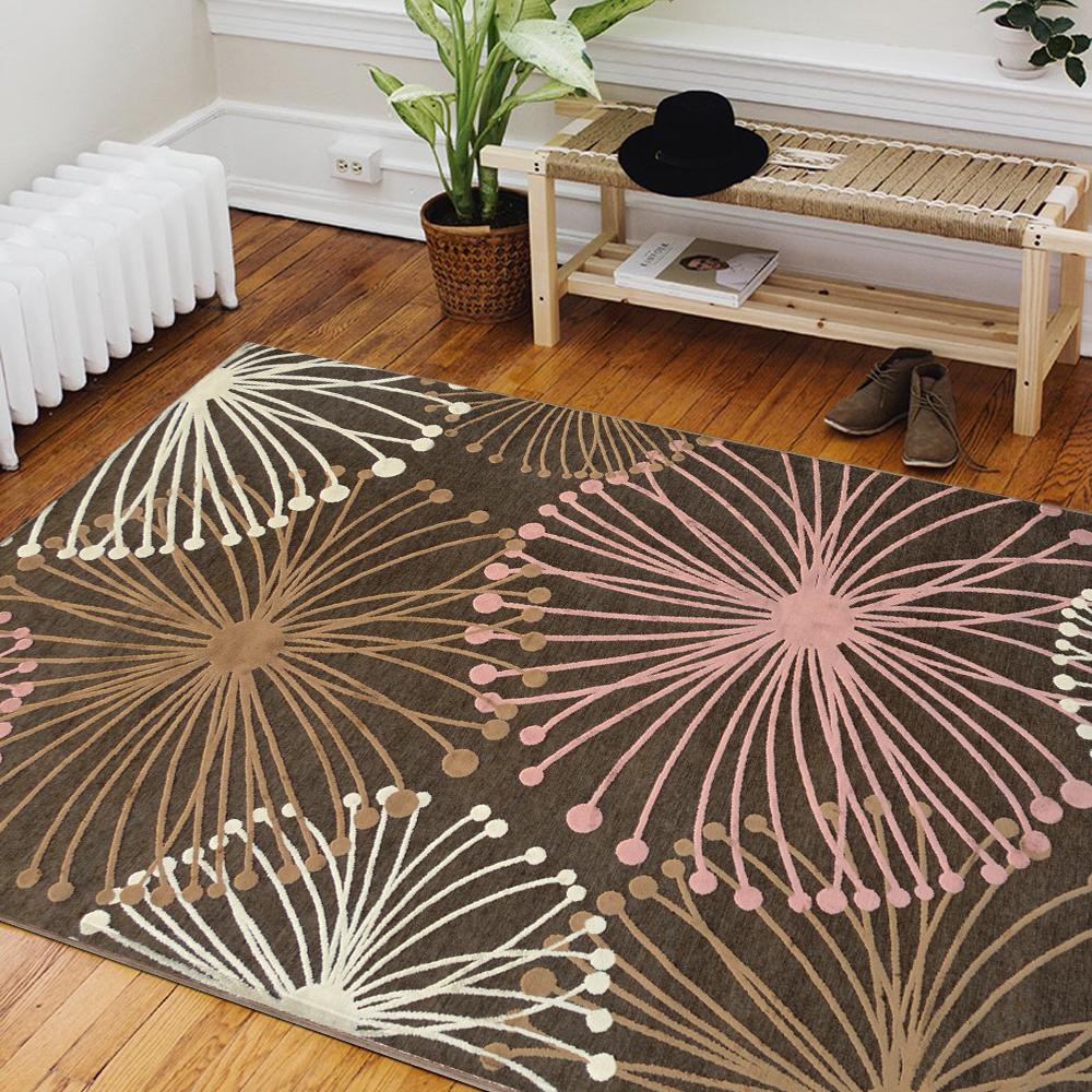 Ambience 比利時Valentine 玄關/床邊絲毯 -火花 (68x110cm)