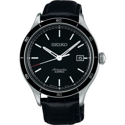 SEIKO 6R15-23石都會機械腕錶(SARG017J)-黑/41mm