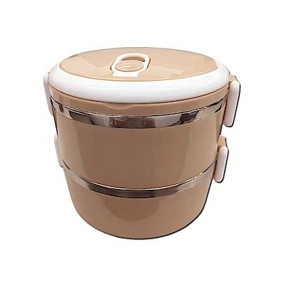 WIDE VIEW雙層保溫手提餐盒(BANS-04)-快