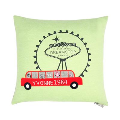 Yvonne CollectionVEGAS45x45cm方形抱枕-草綠