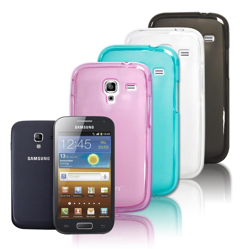 Gekors Samsung i8160 Ace 2 磨砂質感糖果色保護殼