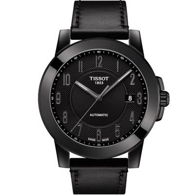 TISSOT 天梭紳士系列機械錶(T0984073605200)44mm