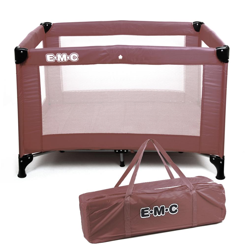 EMC 輕巧型遊戲床(咖啡色)