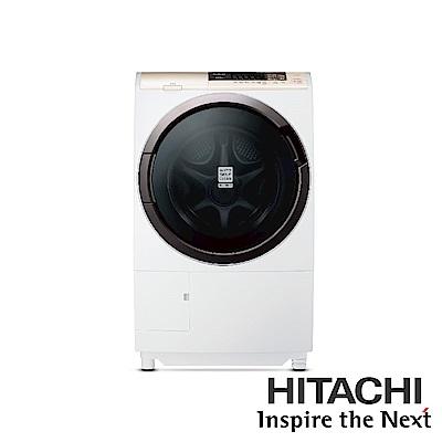 HITACHI 日立 11KG 3D自動全槽清水洗淨滾筒洗脫烘 SFSD2100A(左開)