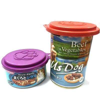 寵物罐頭蓋(400g|170g罐頭適用)隨機出貨5入