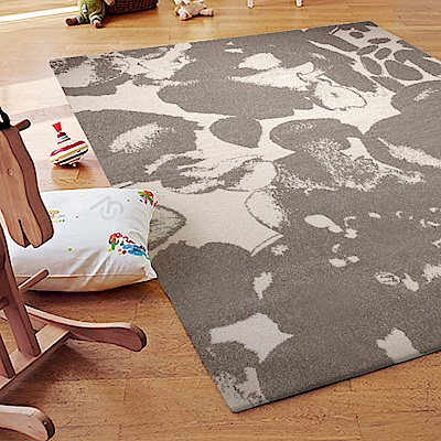 ESPRIT-Zora淺咖短毛地毯-200x290cm